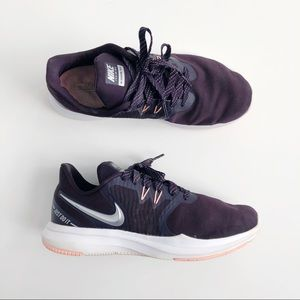 Nike Plum & Coral Mesh Training Athletic Shoes
